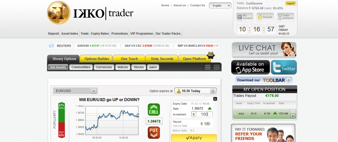 Binary options auto trading software reviews