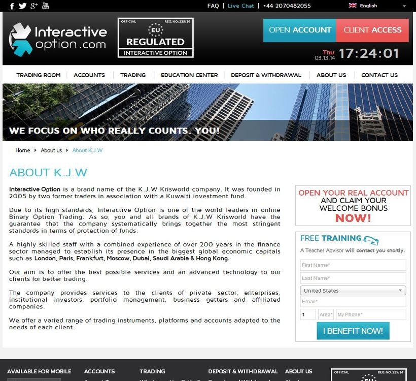 Interactive brokers options minimum
