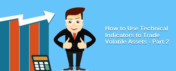 Trading volatile stocks with technical indicators